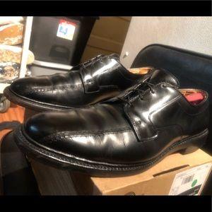 Allen Edmonds Hillcrest Black Leather Oxfords VTG